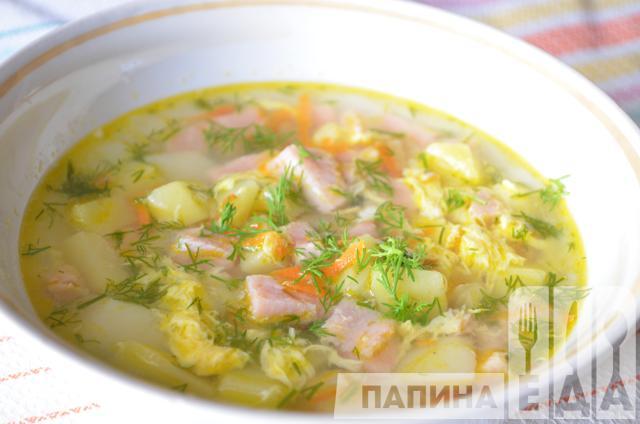 Суп из колбасы рецепт с фото
