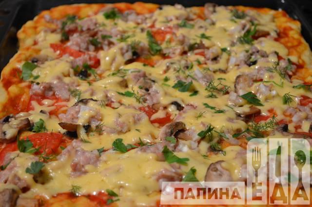 Расстегай из слоеного теста с мясом рецепт с фото пошагово
