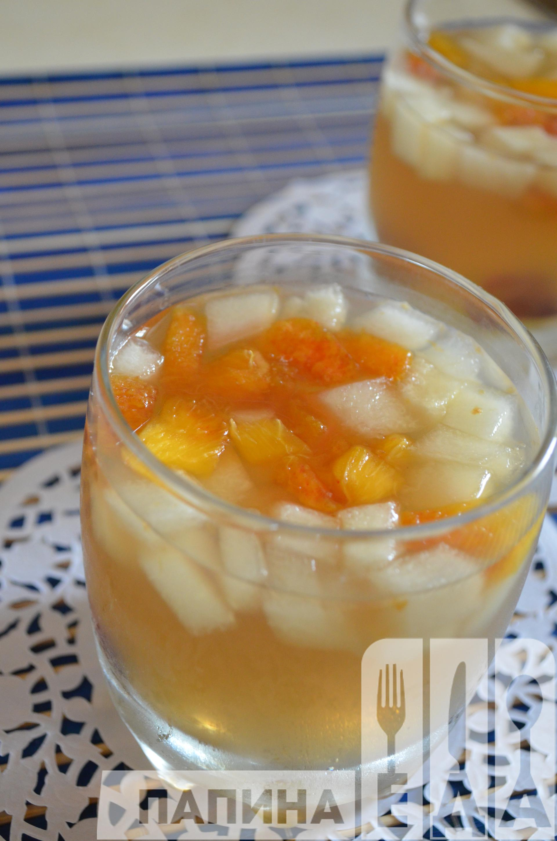 Желе с ягодами и фруктами рецепт с фото пошаговый Едим Дома 24