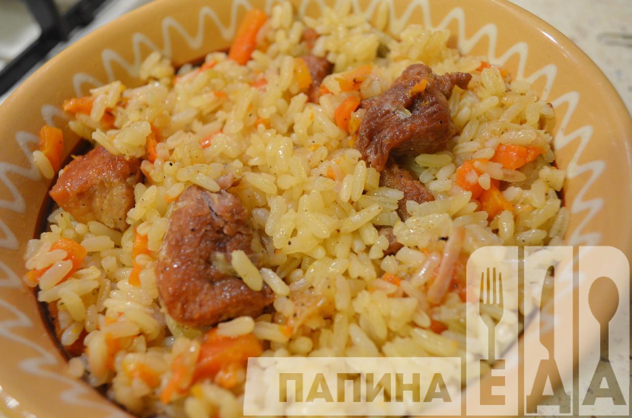 Плов из курицы на сковородке рецепт пошагово