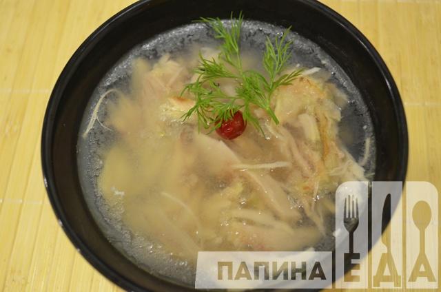 Холодец из курицы рецепт с фото