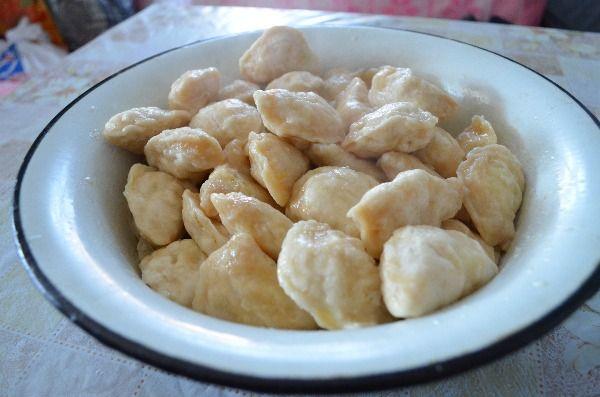 вареники картошкой рецепт кефире фото